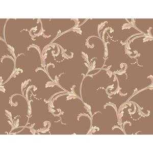 Floral Scroll Companion Wallpaper PL4609