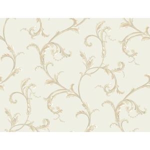 Floral Scroll Companion Wallpaper PL4612