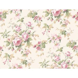 Rose Floral Trail Wallpaper CT0800
