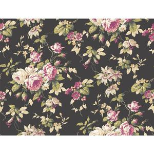 Rose Floral Trail Wallpaper CT0803
