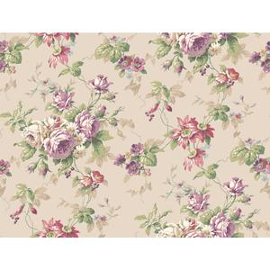 Rose Floral Trail Wallpaper CT0804