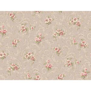 Full Floral Scroll Wallpaper CT0808