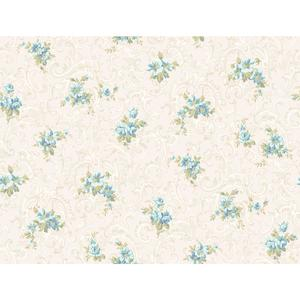 Full Floral Scroll Wallpaper CT0809