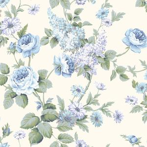 Monogram Rose Wallpaper CT0842