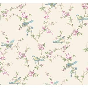 Floral Branches W/Bi Wallpaper CT0864