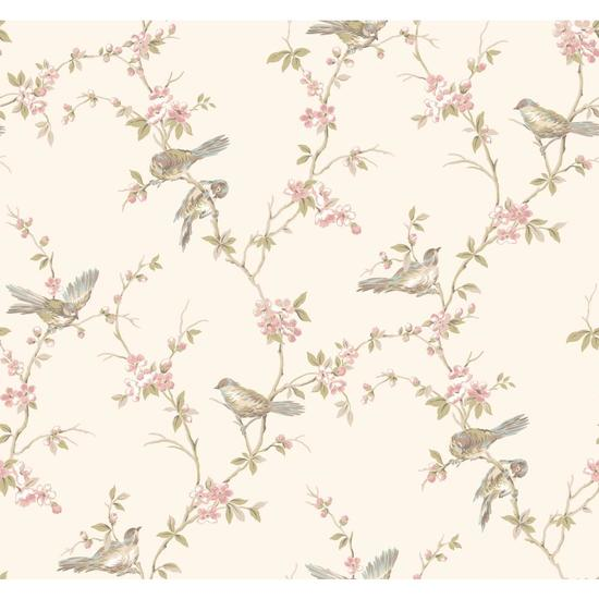 Floral Branches W/Bi Wallpaper CT0866