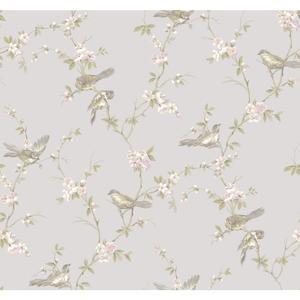 Floral Branches W/Bi Wallpaper CT0868