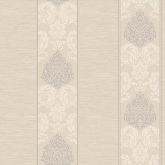 Silky Damask Stripe Wallpaper CT0896