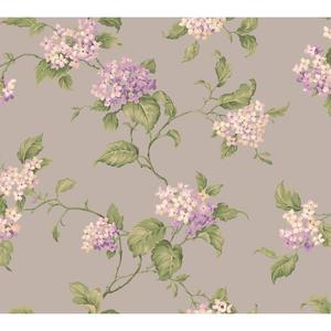Hydrangia Sidewall Wallpaper CT0906