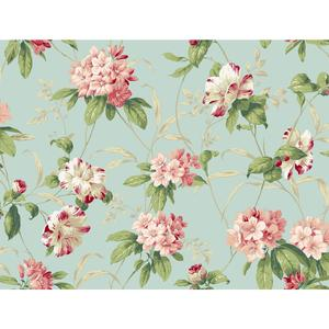 Rhododendron Floral Wallpaper BA4540