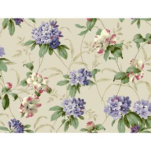 Rhododendron Floral Wallpaper BA4542
