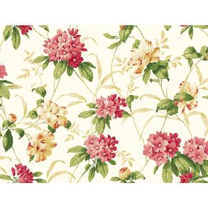 Rhododendron Floral Wallpaper BA4543