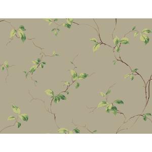 Leaves Sidewall Wallpaper BA4548
