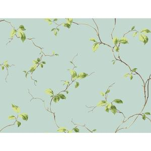 Leaves Sidewall Wallpaper BA4549