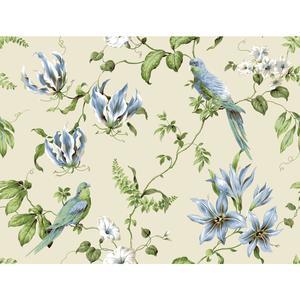 Tropical Floral Wallpaper BA4576