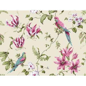 Tropical Floral Wallpaper BA4577