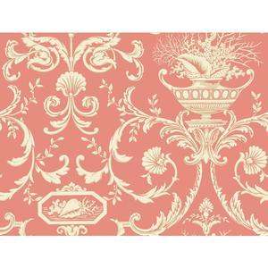 Neoclassic Shells Wallpaper BA4597