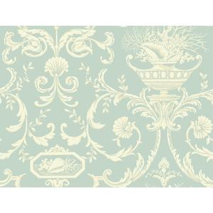 Neoclassic Shells Wallpaper BA4598