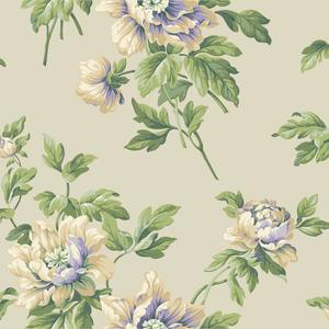 Document Floral Wallpaper BA4611