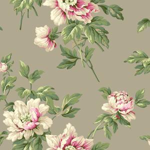 Document Floral Wallpaper BA4612
