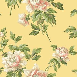 Document Floral Wallpaper BA4614