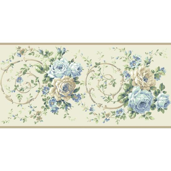 Rose Scroll Border BA4622B