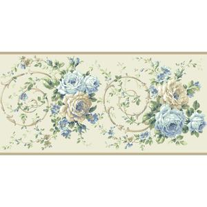 Rose Scroll Border BA4622B