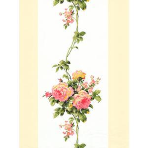Rose Stripe Wallpaper LY4300