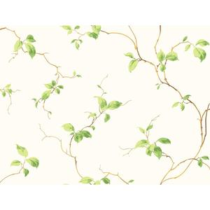 Leaves Sidewall Wallpaper NH6022