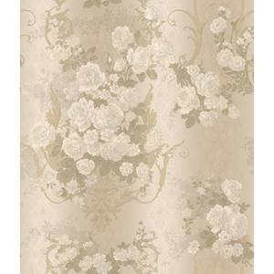Charleston Bouquet Damask Wallpaper AR7700