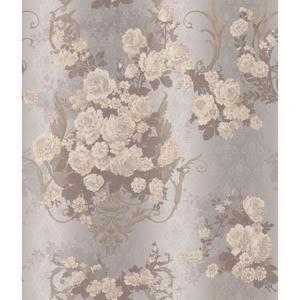 Charleston Bouquet Damask Wallpaper AR7702