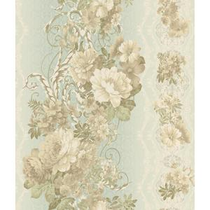 Charleston Floral Stripe Wallpaper AR7716