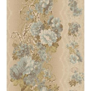 Charleston Floral Stripe Wallpaper AR7717