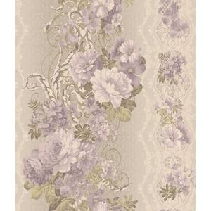 Charleston Floral Stripe Wallpaper AR7718