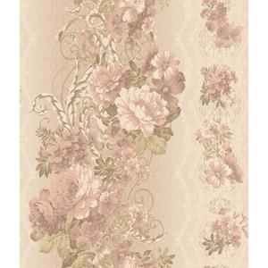 Charleston Floral Stripe Wallpaper AR7719