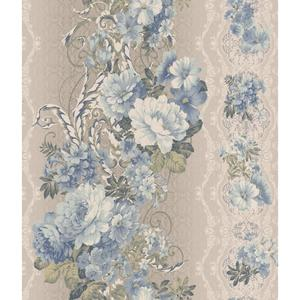 Charleston Floral Stripe Wallpaper AR7720
