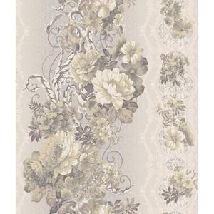 Charleston Floral Stripe Wallpaper AR7721