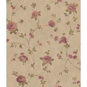 Charleston Floral Vine Wallpaper AR7725
