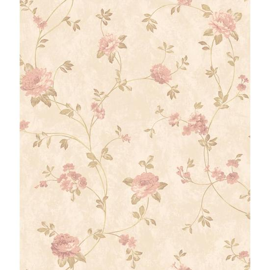 Charleston Floral Vine Wallpaper AR7729