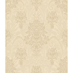 Charleston Damask Paisley Wallpaper AR7733