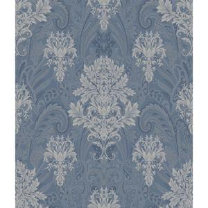 Charleston Damask Paisley Wallpaper AR7734