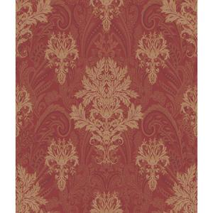 Charleston Damask Paisley Wallpaper AR7735