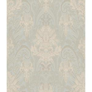 Charleston Damask Paisley Wallpaper AR7736