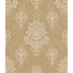 Charleston Damask Paisley Wallpaper AR7737