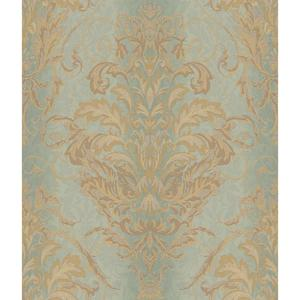 Charleston Ombre Damask Stripe Wallpaper AR7750