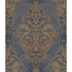 Charleston Ombre Damask Stripe Wallpaper AR7751
