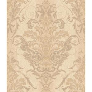 Charleston Ombre Damask Stripe Wallpaper AR7752