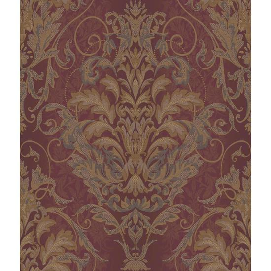 Charleston Ombre Damask Stripe Wallpaper AR7754