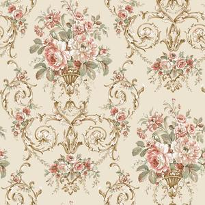 Classical Floral Wallpaper GD5403