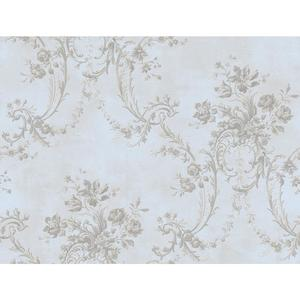 Grey Damask Wallpaper GD5432